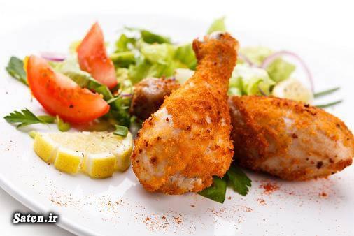 مرغ سوخاری بهترین سایت آشپزی آموزش مرغ کنتاکی آموزش مرغ سوخاری آموزش آشپزی