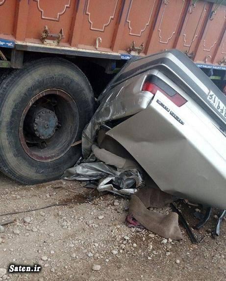 عکس تصادف مرگبار جاده ساوه همدان تصادف پژو اخبار نوبران اخبار ساوه اخبار استان مرکزی