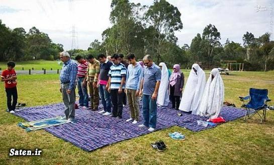 عکس نماز عکس ملبورن سفر به استرالیا زندگی در استرالیا دختر استرالیایی
