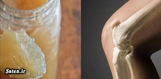 مجله سلامت ژلاتین خوراکی درمان درد مفاصل درمان درد زانو درمان خانگی