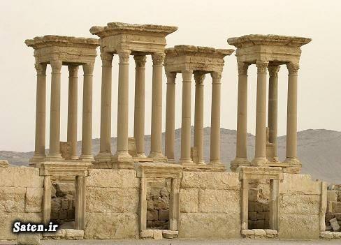 معبد تاریخی بعل طاق نصرت شهر پالمیرا جنایات داعش توریستی سوریه اخبار داعش