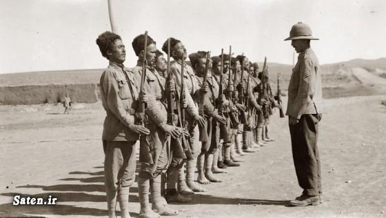 عکس قدیمی عکس ایران قدیم دانستر جنگ جهانی اول