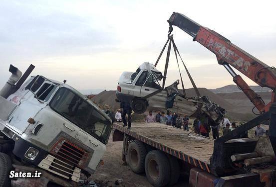 عکس تصادف مرگبار عکس تصادف تصادف پراید امنیت پراید اخبار مشهد اخبار فریمان