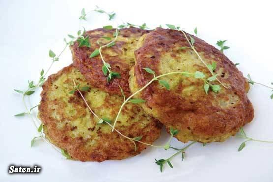 کتلت عدس کتلت سیب زمینی طرز تهیه کتلت بهترین سایت آشپزی آموزش آشپزی