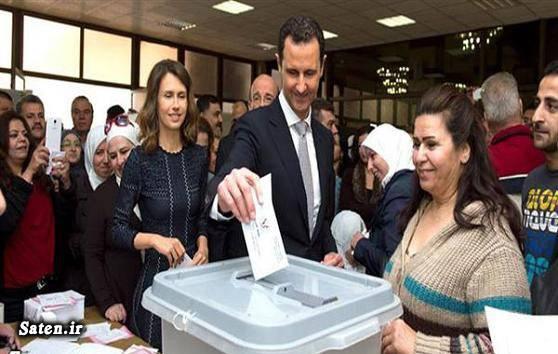 همسر بشار اسد انتخابات سوریه اخبار سوریه