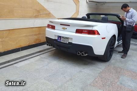 منطقه آزاد قیمت شورولت کامارو خودروهای گذر موقت Chevrolet Camaro