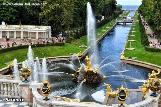 کاخ پترگوف عجایب هفت گانه روسیه توریستی روسیه Wonders of Russia Valley of Geysers
