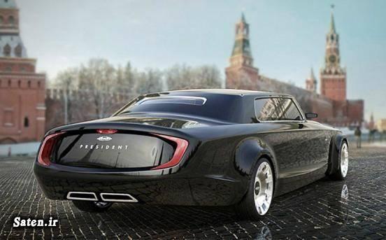 خودرو ولادیمیر پوتین خودرو لیموزین خودرو روسی خودرو رئیس جمهور Kortezh