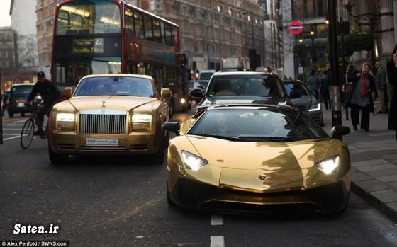 زندگی در انگلیس خودروهای میلیاردی ایران خودرو لوکس ثروتمندان عرب