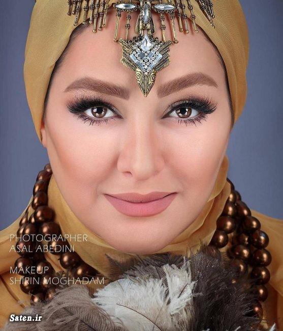 میکاپ شیرین مقدم مدل آرایش عکس میکاپ عکس زیبا الهام حمیدی بیوگرافی الهام حمیدی بهترین میکاپ آرایش بازیگران Shirin moghaddam