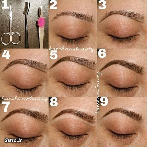 مدل ابرو شیک مدل ابرو شمشیری مدل ابرو 2016 زیباترین مدل ابرو جدیدترین مدل ابرو ابرو کارحرفه ای آموزش آرایش صورت آرایش و زیبایی آرایش زنانه آرایش ابرو
