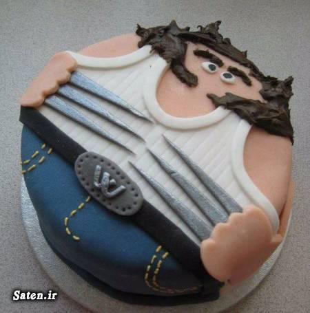 کیک روز مرد کیک روز پدر تزیین کیک تزیین دسر تبریک روز پدر