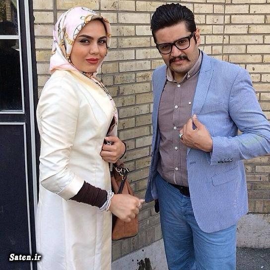 همسر مهران رنجبر دورهمی شبکه نسیم بیوگرافی مهران رنجبر بازیگران دورهمی Mehran Ranjbar