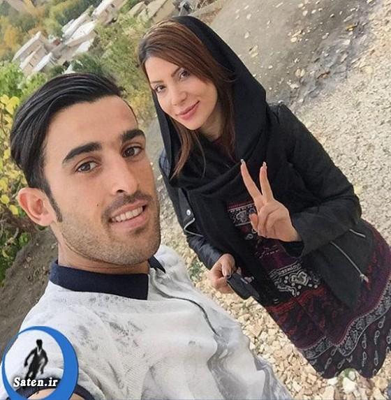همسر فوتبالیست ها همسر بختیار رحمانی سوابق موسی کمالی سردار موسی کمالی بختیار رحمانی