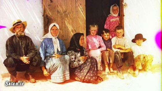 عکس قدیمی عکس روسیه سرگی میخائیلوویچ پروکودین گورسکی زن روسی دختر روسی Sergey Prokudin Gorsky