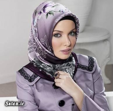 مدل لباس عربی مدل شیک روسری جدیدترین مدل روسری بستن زیبای شال و روسری آموزش بستن شال و روسری