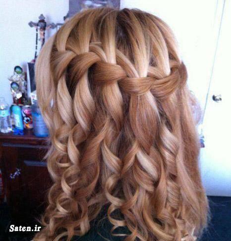 مدل موی زیبا مدل موی دختران مدل موی آبشاری زیباترین مدل موی زن آموزش بافت مو