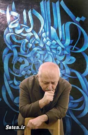 نقاشی سید محمد احصایی قیمت تابلو نقاشی حراجی تهران بیوگرافی محمد احصایی