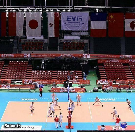 ولیبال انتخابی المپیک عکس والیبال عکس تماشاگران والیبال تماشاگران ایرانی والیبال اخبار والیبال