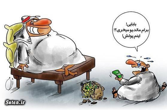 کاریکاتور مالدیو کاریکاتور عربستان ایران و مالدیو