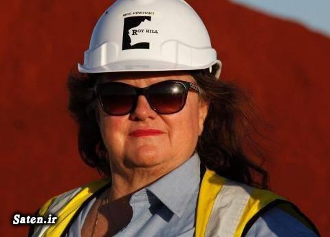 همسر جینا راینهارت میلیاردرهای جهان زن ثروتمند زن استرالیایی پولدار شدن بیوگرافی جینا راینهارت Gina Rinehart