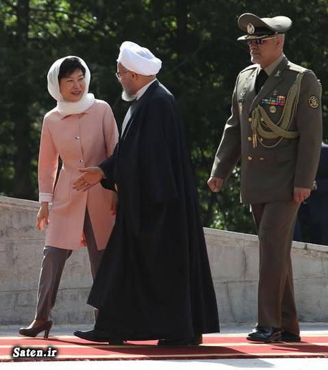 عکس رئیس جمهور عکس حسن روحانی رئیس جمهور کره جنوبی پارک گون هه Park Geun hye
