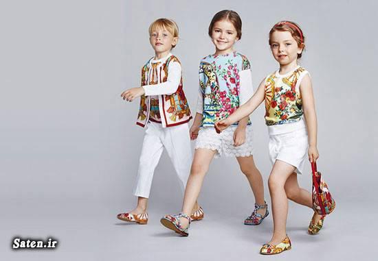 مدل لباس کودکان مدل لباس دخترانه لباس تابستانه ست لباس دخترانه دولچه و گابانا