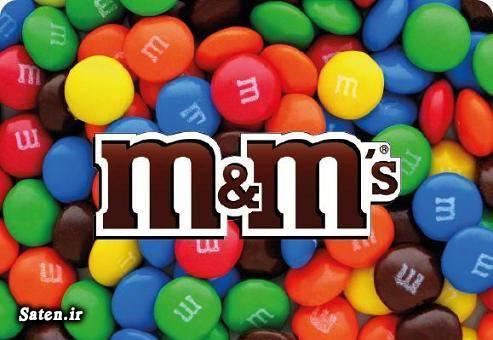 مضرات شکلات بهترین شکلات M&M