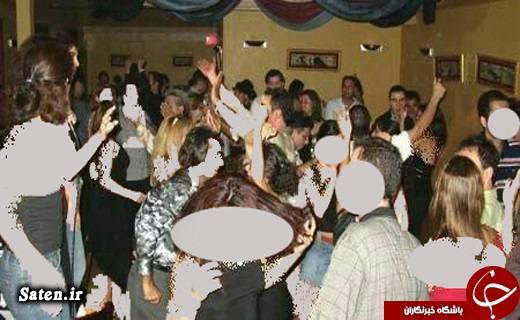 عکس رقص مختلط پارتی مختلط پارتی قزوین اخبار قزوین