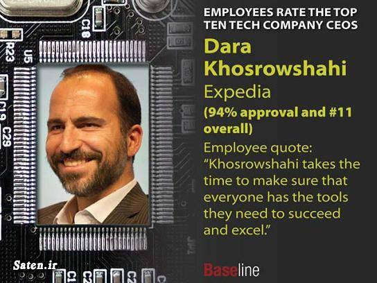 شرکت اکسپیدیا ثروت دارا خسروشاهی بیوگرافی دارا خسروشاهی ایرانیان آمریکا آموزش پولدار شدن Dara Khosrowshahi