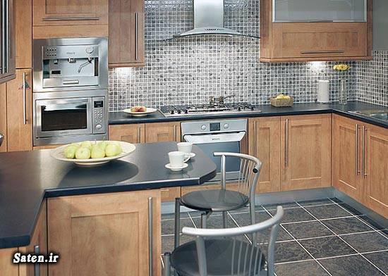 دکوراسیون کابینت آشپزخانه دکوراسیون آشپزخانه چیدمان آشپزخانه آشپزخانه مدرن