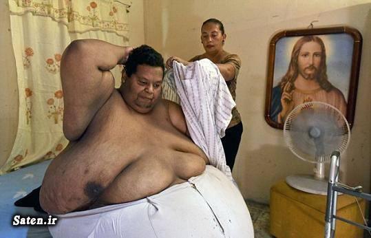 چاق ترین فرد دنیا Oscar Vasquez Morales