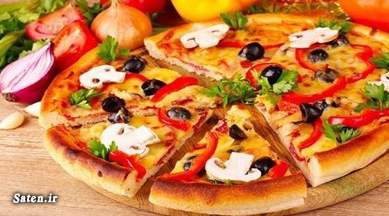 طرز تهیه پیتزا پیتزا مخصوص آموزش پیتزا مخصوص آموزش آشپزی Pizza