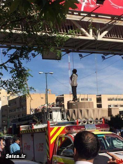 عکس خودکشی زندگی در تهران خیایان میرداماد خودکشی در تهران حوادث تهران اخبار تهران