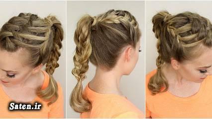 مدل موی فرانسوی مدل موی زیبا مدل موی دختران مدل موی آبشاری مدل مو تابستانی زیباترین مدل موی زن