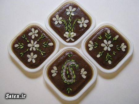 طرز تهیه حلوا بهترین سایت آشپزی آموزش حلوا مجلسی آموزش آشپزی