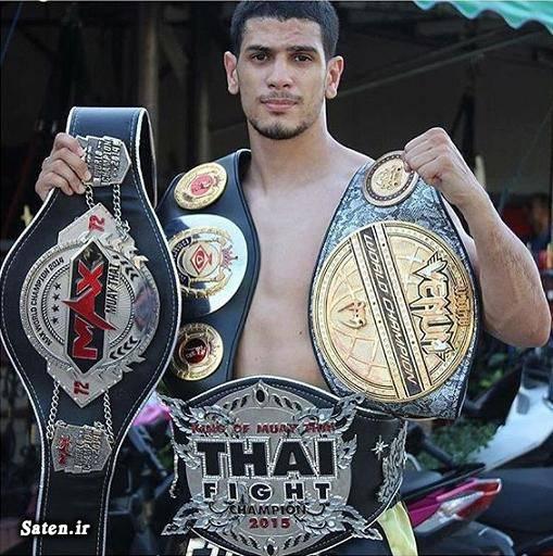 موی تای تایلند موی تای بیوگرافی سعید یوسفی (موی تای) اخبار تایلند