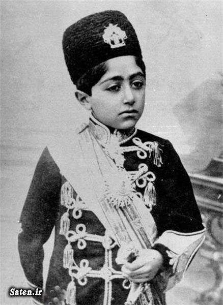 همسر احمد شاه عکس قدیمی عکس ایران قدیم احمد شاه قاجار