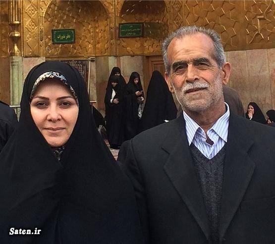 همسر مجریان همسر مجری زن همسر زهره سادات هاشمی شهاب الدین باقری بیوگرافی زهره سادات هاشمی