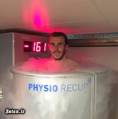 سرمادرمانی کریوتراپی سرما درمانی بیوگرافی گرت بیل بدنساز فوتبال Whole Body Cryotherapy