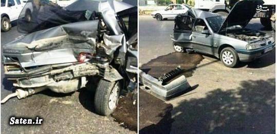 مشخصات پژو 405 عکس تصادف خودرو تصادف پژو