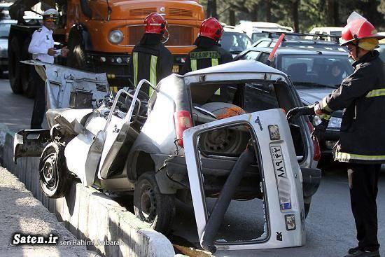 عکس تصادف مرگبار عکس تصادف حوادث مشهد تصادف در مشهد