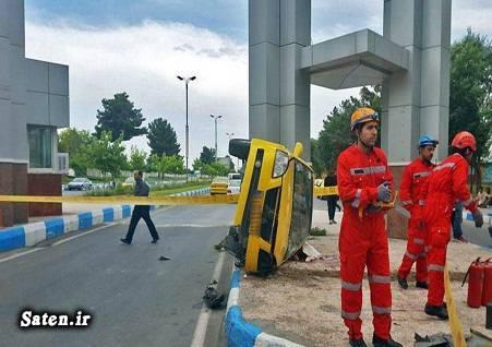 فرودگاه مشهد عکس تصادف مرگبار حوادث واقعی حوادث مشهد اخبار مشهد