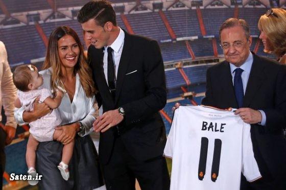 همسر گرت بیل عکس یورو 2016 بیوگرافی گرت بیل اخبار فوتبال Gareth Bale