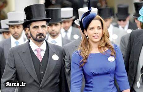 هیا بنت حسین همسر شیخ محمد بن راشد همسر حاکم دبی شیخ محمد بن راشد Mohammed bin Rashid
