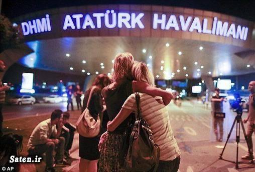 فرودگاه استانبول فرودگاه آتاتورک ترکیه عکس و فیلم انفجار ترکیه حوادث ترکیه انفجار فرودگاه ترکیه اخبار ترکیه