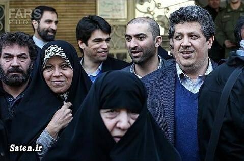 همسر هاشمی رفسنجانی بیوگرافی عفت مرعشی بیماری عفت مرعشی بیمارستان بهمن