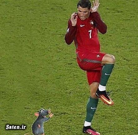 عکس یورو 2016 عکس طنز بیوگرافی کریس رونالدو اینستاگرام کریس رونالدو