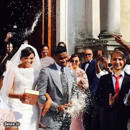 عروسی فوتبالیست ساموئل اتوئو بازیکنان بارسلونا اخبار بارسلونا