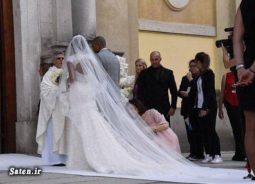 عروسی فوتبالیست ها ساموئل اتوئو بازیکنان بارسلونا اخبار بارسلونا